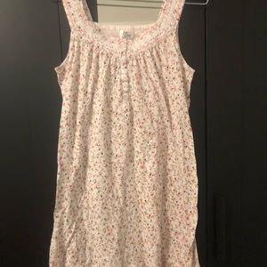 100%cotton floral summer nightie maternity